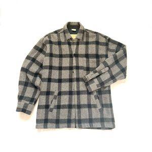 Vintage   90's Flannel Unstructured Jacket